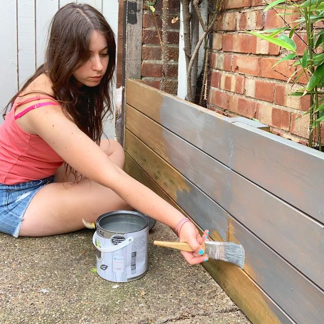 ronseal charcoal garden paint