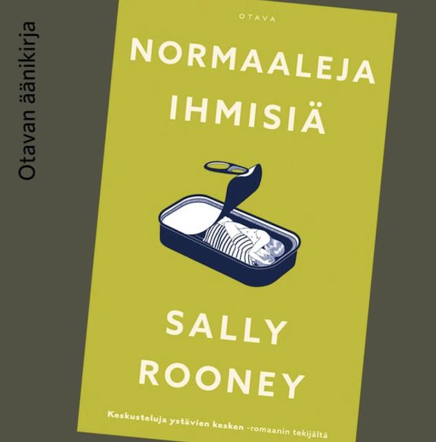 Sally Rooney - Normaaleja ihmisiä kirjan kansi