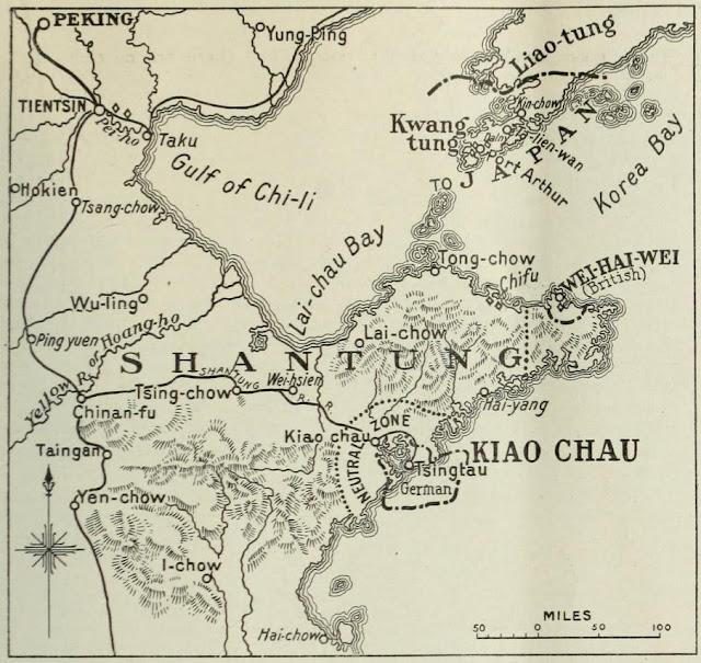 Мапа Циндао