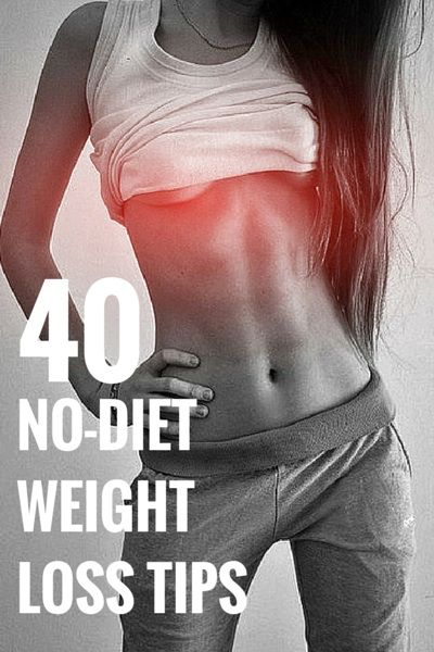 No-Dieting Ways to Lose Weight
