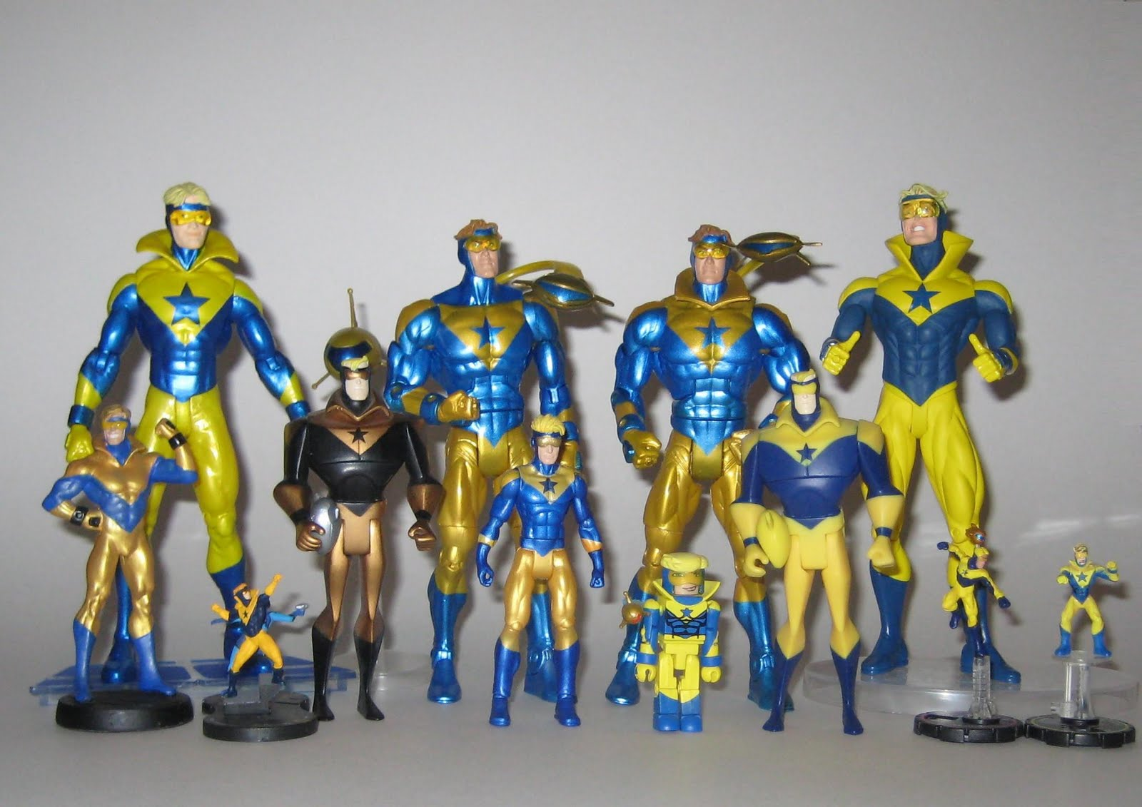 The Blot Says The Complete Booster Gold Toy Collection