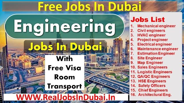 Engineering Jobs In Dubai UAE 2021