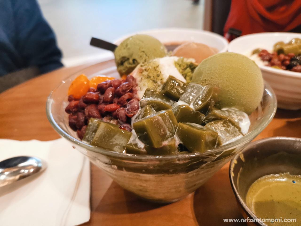 Cuba Snowflake Malaysia Dessert