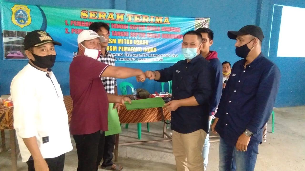 Rampung Dikerjakan, Ipal Komunal di Pematang Rahim Sudah Serah Terima