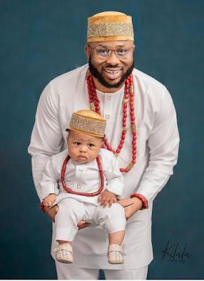 Olakunle Churchill and family