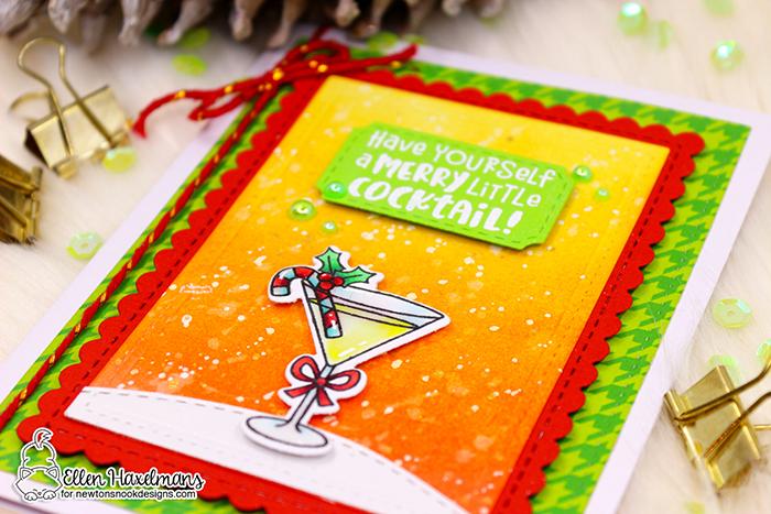 #newtonsnook #newtonsnookdesigns #handmadecard #cardmaking #stamping #nnd #card #cardmaking #handmade #stampset #dieset #paperart #hobby #drawing #dutchcardmaker  #christmascard #diy #patternpaper #MeowyChristmasPaperPad #ChristmasCocktailsstampset #DairyChristmasstampset #holidaycard #giltzglittergel #thermoweb #glittergel #copicmarker #crittercard