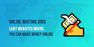 how to get online writing jobs