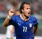 Alberto Gilardino helped Italy win the World Cup in 2006