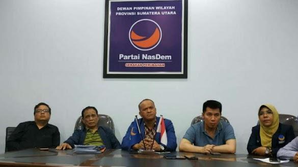 Nasdem Pecat Kader Pemilik Tiga Karung Sabu