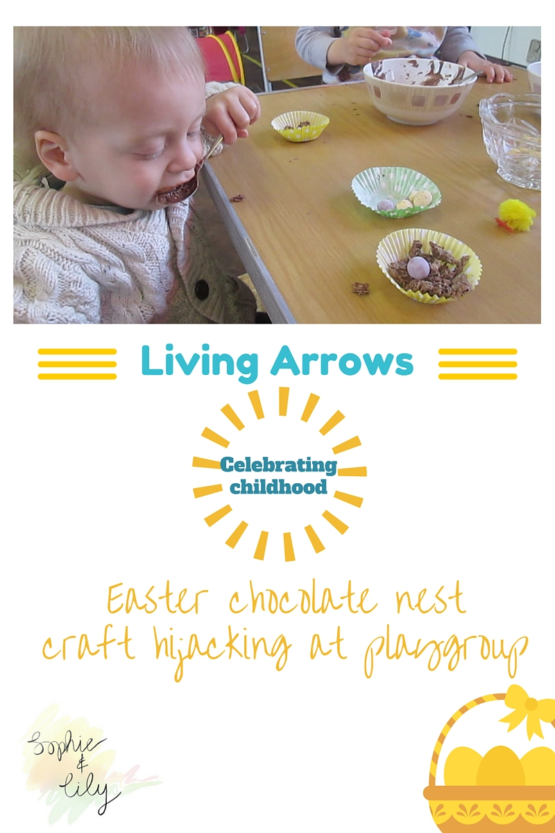 Living Arrows, celebrating childhood blog linky Alexander loving chocolate