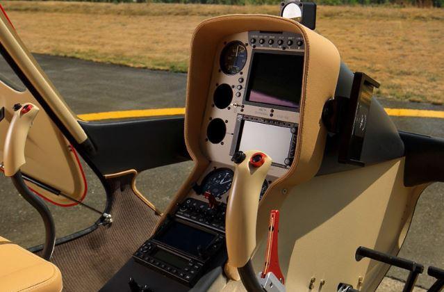 Guimbal Cabri G2 cockpit