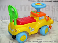 Ride-on Car Pliko PK554 Puppy Dreamcar Keeping Mobil Mainan Anak