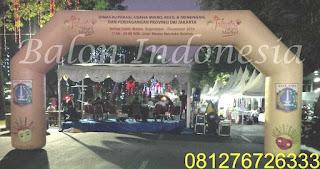 Balon gate gapura bisa digunakan untuk berbagai acara dengan harga ekonomis sekali