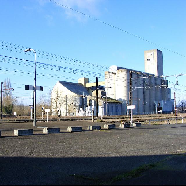 Grain silos, Indre et Loire, France. Photo by Loire Valley Time Travel.