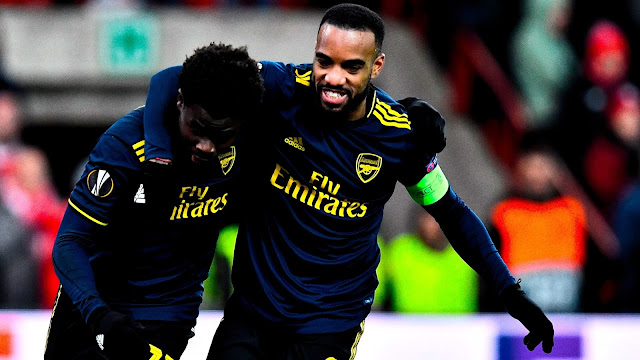 Standard Liège vs Arsenal Highlights