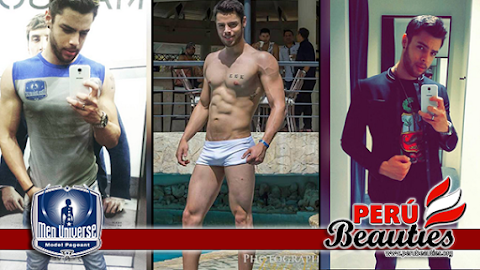 Men Universe Model 2016 | Israel Boucher es Perú