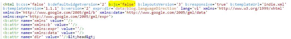Hướng dẫn xóa bỏ xmlns khỏi thẻ html và xóa bỏ code tự phát sinh ở cuối blog