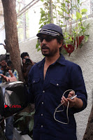 Bollywood Actress Raveena Tandon in Transparent Green Saree at Trailer Launch Of Film Maatr  0002.JPG