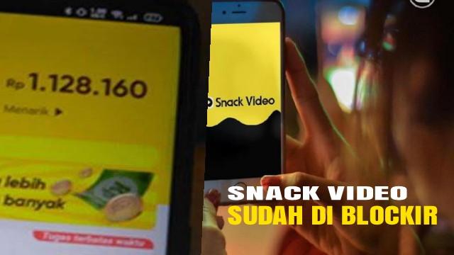 snack video di blockir