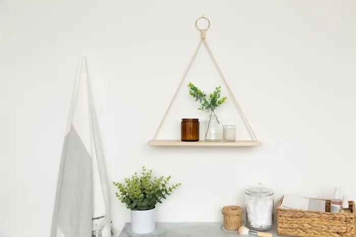 estante DIY de inspiración escandinava