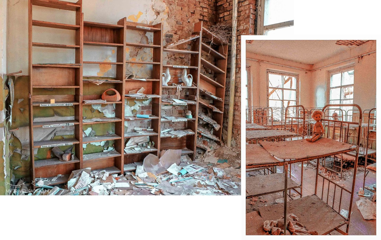 My Travel Background : une journée dans la zone d'exclusion de Tchernobyl - Ecole Kopatchi