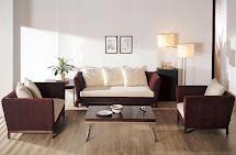living room - fabric sofa sets