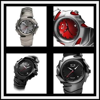 ca89896d6 Aqui está um relógio da coleção Oakley lâmina. Estes relógios usam os  mesmos puros cristais de safira usados na maioria dos relógios high-end e  que são ...