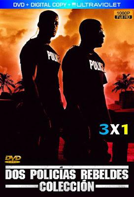 Bad Boys Colección 3X1 DVD HD Latino