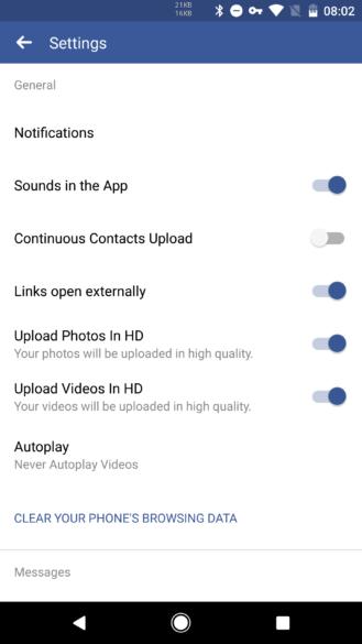 """""""فيس بوك"""" يتيح للمستخدمين رفع الفيديوهات بجودة HD"""