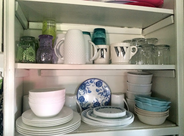 Where To Put Dishes And Glasses New Kitchen