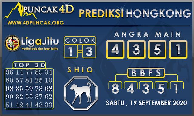 PREDIKSI TOGEL HONGKONG PUNCAK4D 19 SEPTEMBER 2020
