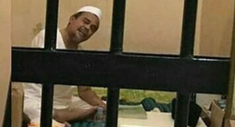 Apes Berjilid-jilid! Lagi Sakit Dipenjara, Habib Rizieq Kembali Dipolisikan, Ternyata Kasus..