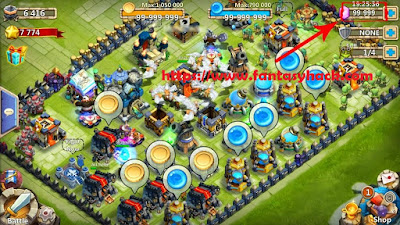 Download Free Castle Clash (All Versions) Hack Unlimited Gold,Mana,Gems 100% Working and Tested for IOS and  Android.