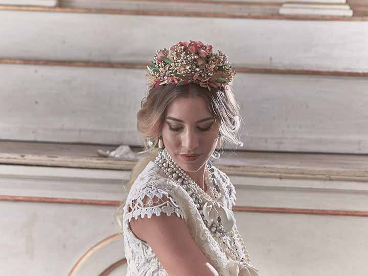 peinado para novia de dia 2020