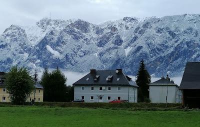تساقطات ثلجية في مرتفعات النمسا