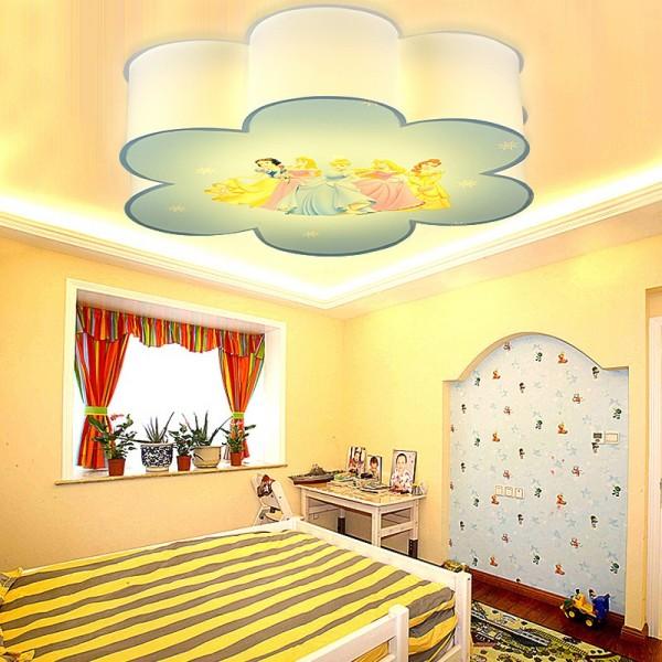 غرف نوم الأطفال مع شخصيات كرتونية