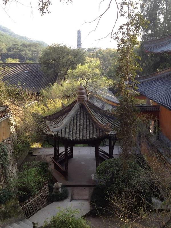 วัดกว๋อชิง (Guoqing Temple: 国清寺) @ www.mapio.net