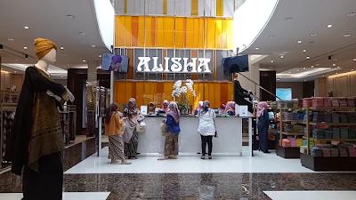 Alisha tempat belanja busana muslim di Bandung