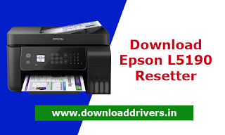 Download Epson L5190 WIC tool, Printer service tool, Epson L5190 adjustment tool