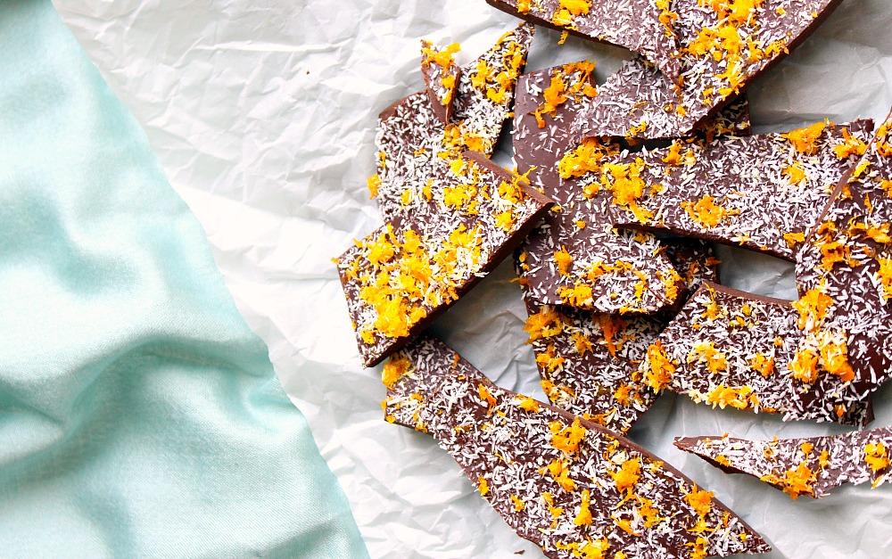 Quick + Easy Chocolate Orange Bark Recipe