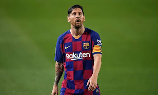 Barcelona star Messi could be fine if he keeps missing training