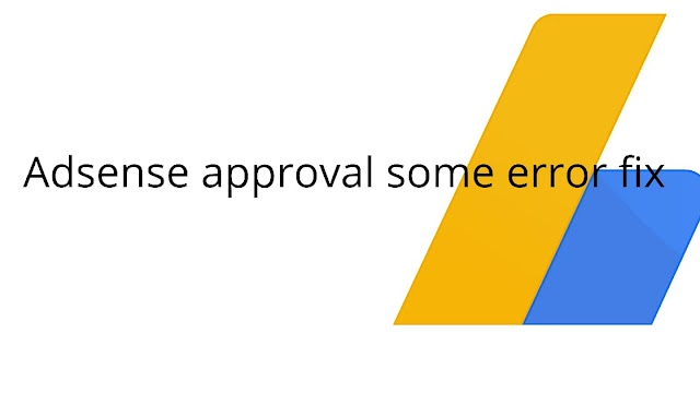 Adsense disapproved valuable inventory under contruction