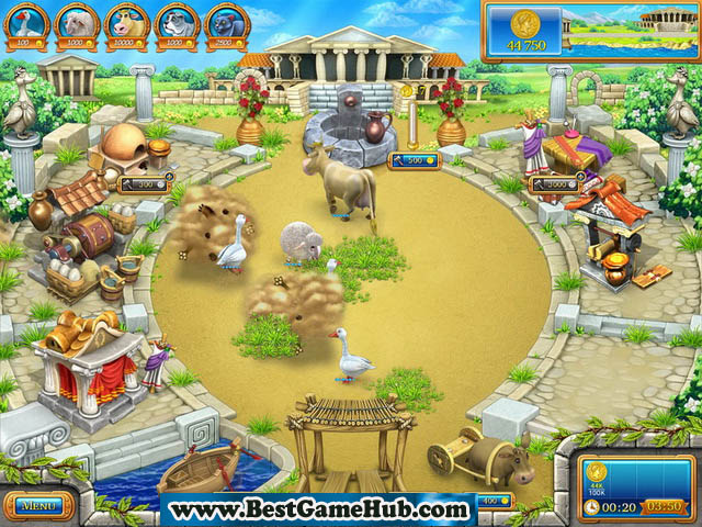 Farm Frenzy - Ancient Rome PC Game Full Version Free Download