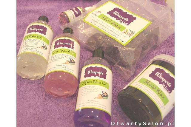 produkty do łatwej depilacji Waxperts