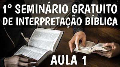 banner ensino biblico aulas gratis