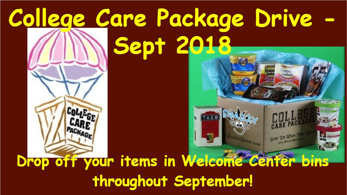 College Care Packages 2018
