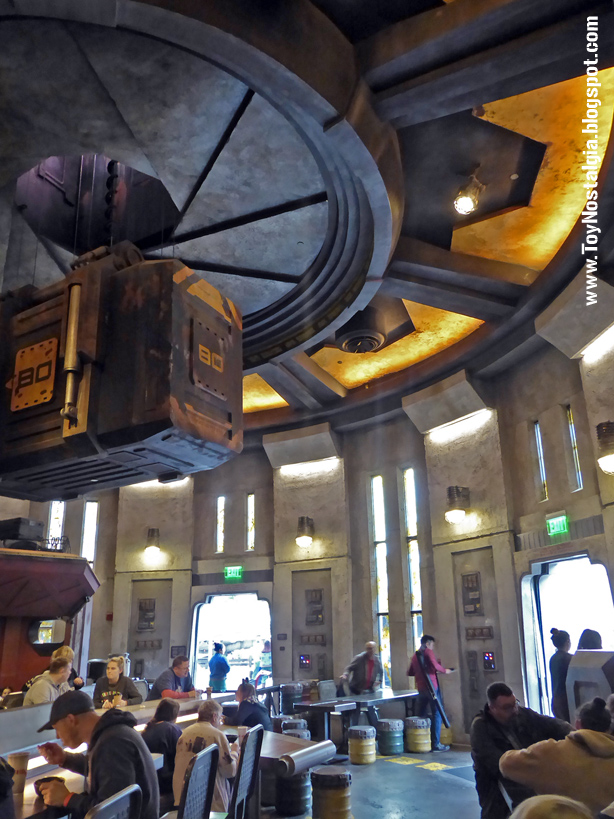 STAR WARS: Galaxy's Edge Docking Bay 7 Food & Cargo  restaurant - Walt Disney World