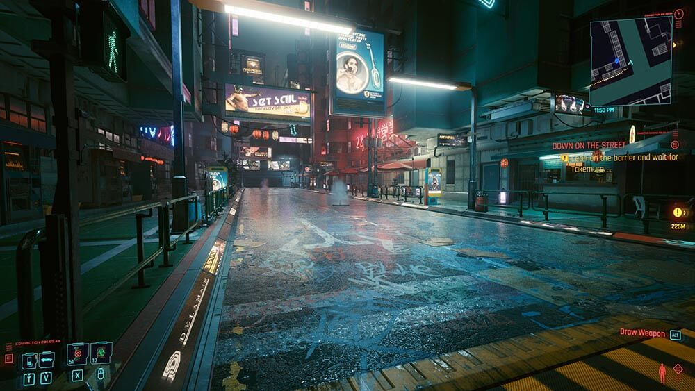 Cyberpunk 2077 Review Street