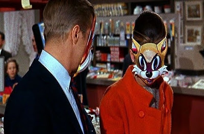 audrey hepburn cat mask