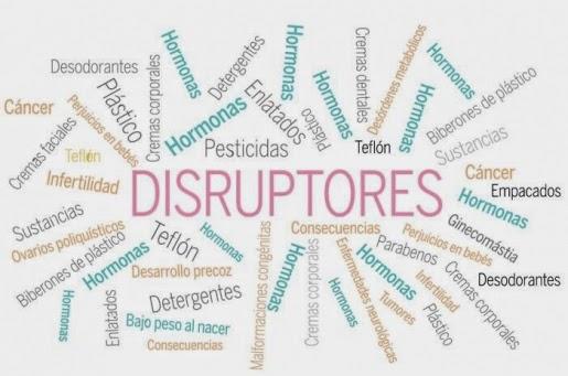 Resultado de imagen de disruptores hormonales